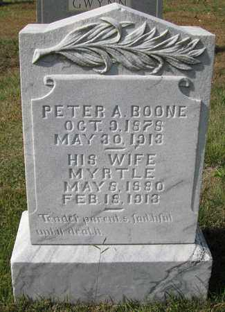 BOONE, PETER A - Caswell County, North Carolina | PETER A BOONE - North Carolina Gravestone Photos