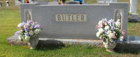 BUTLER FAMILY MARKER, . - Caswell County, North Carolina | . BUTLER FAMILY MARKER - North Carolina Gravestone Photos