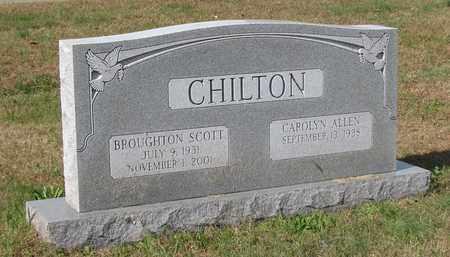 CHILTON, BROUGHTON SCOTT - Caswell County, North Carolina | BROUGHTON SCOTT CHILTON - North Carolina Gravestone Photos