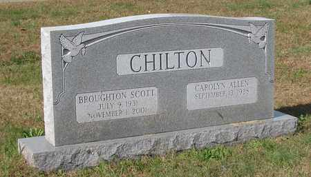 CHILTON, BROUGHTON SCOTT - Caswell County, North Carolina | BROUGHTON SCOTT CHILTON - North Carolina Gravestone Photos