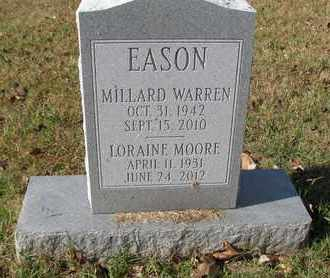MOORE EASON, LORAINE - Caswell County, North Carolina | LORAINE MOORE EASON - North Carolina Gravestone Photos