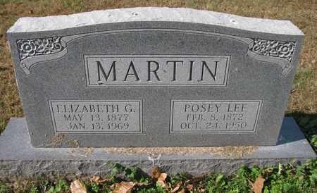 MARTIN, POSEY LEE - Caswell County, North Carolina | POSEY LEE MARTIN - North Carolina Gravestone Photos