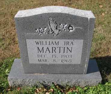 MARTIN, WILLIAM IRA - Caswell County, North Carolina | WILLIAM IRA MARTIN - North Carolina Gravestone Photos