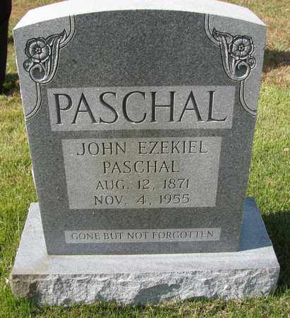 PASCHAL, JOHN EZEKIEL - Caswell County, North Carolina | JOHN EZEKIEL PASCHAL - North Carolina Gravestone Photos