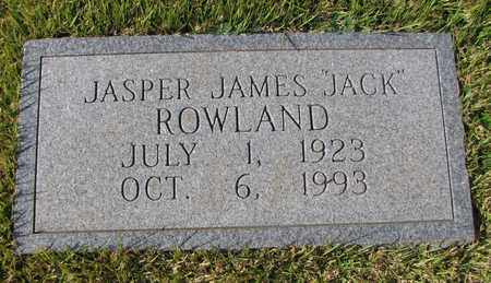 "ROWLAND, JASPER JAMES ""JACK"" - Caswell County, North Carolina 