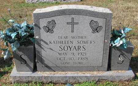 SOMERS SOYARS, KATHLEEN - Caswell County, North Carolina | KATHLEEN SOMERS SOYARS - North Carolina Gravestone Photos