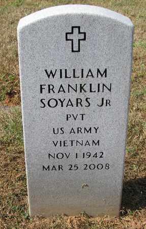 SOYARS,JR (VETERAN VIET), WILLIAM FRANKLIN (NEW) - Caswell County, North Carolina | WILLIAM FRANKLIN (NEW) SOYARS,JR (VETERAN VIET) - North Carolina Gravestone Photos
