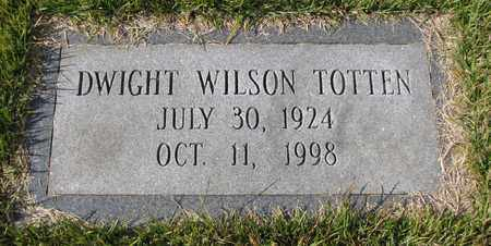 TOTTEN, DWIGHT WILSON - Caswell County, North Carolina | DWIGHT WILSON TOTTEN - North Carolina Gravestone Photos