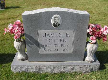 TOTTEN, JAMES B - Caswell County, North Carolina | JAMES B TOTTEN - North Carolina Gravestone Photos