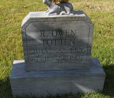 TOTTEN, R OWEN - Caswell County, North Carolina | R OWEN TOTTEN - North Carolina Gravestone Photos