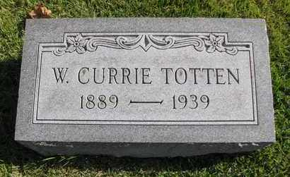 TOTTEN, W CURRIE - Caswell County, North Carolina | W CURRIE TOTTEN - North Carolina Gravestone Photos