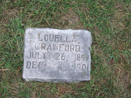 CRAWFORD, LOUELLA - Clay County, North Carolina | LOUELLA CRAWFORD - North Carolina Gravestone Photos