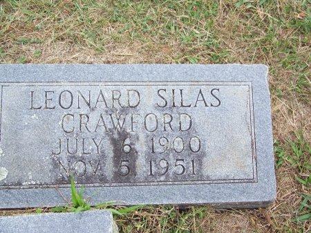 CRAWFORD, LEONARD SILAS - Clay County, North Carolina   LEONARD SILAS CRAWFORD - North Carolina Gravestone Photos
