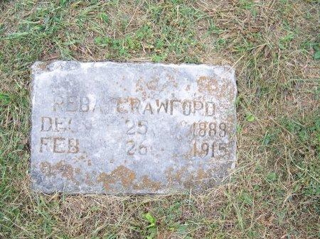 CRAWFORD, REBA - Clay County, North Carolina | REBA CRAWFORD - North Carolina Gravestone Photos