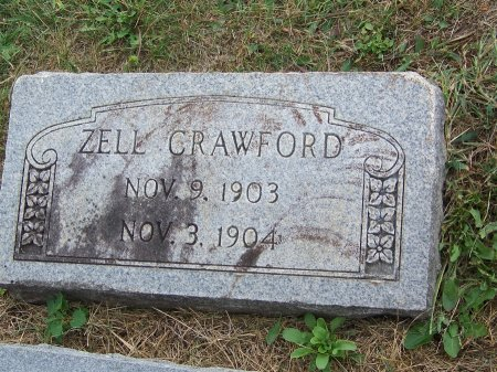 CRAWFORD, ZELL - Clay County, North Carolina | ZELL CRAWFORD - North Carolina Gravestone Photos