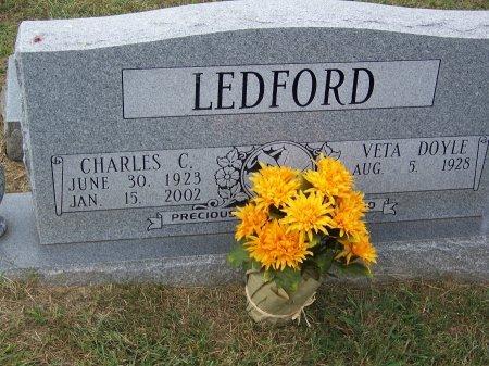 LEDFORD, CHARLES C. - Clay County, North Carolina | CHARLES C. LEDFORD - North Carolina Gravestone Photos
