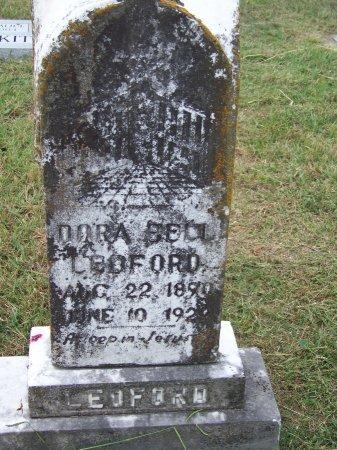 LEDFORD, DORA BELL - Clay County, North Carolina | DORA BELL LEDFORD - North Carolina Gravestone Photos
