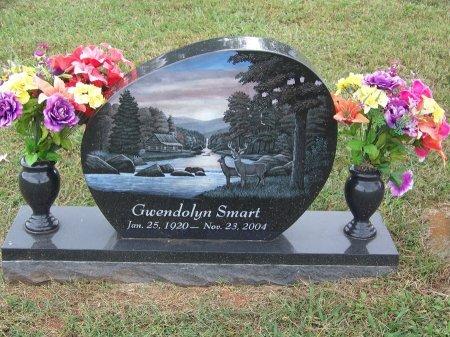 SMART, GWENDOLYN - Clay County, North Carolina | GWENDOLYN SMART - North Carolina Gravestone Photos