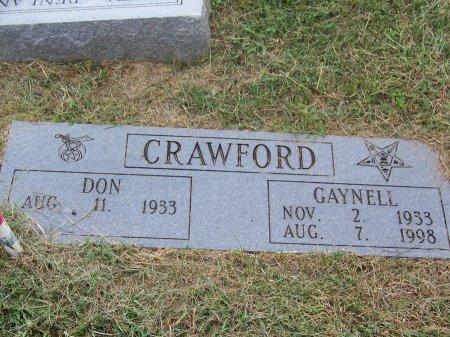 CRAWFORD, GAYNELL - Clay County, North Carolina   GAYNELL CRAWFORD - North Carolina Gravestone Photos