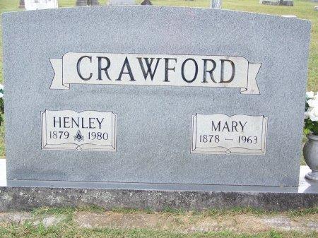 CRAWFORD, HENLEY - Clay County, North Carolina | HENLEY CRAWFORD - North Carolina Gravestone Photos
