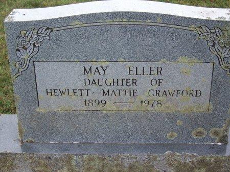 CRAWFORD, MAY ELLER - Clay County, North Carolina | MAY ELLER CRAWFORD - North Carolina Gravestone Photos