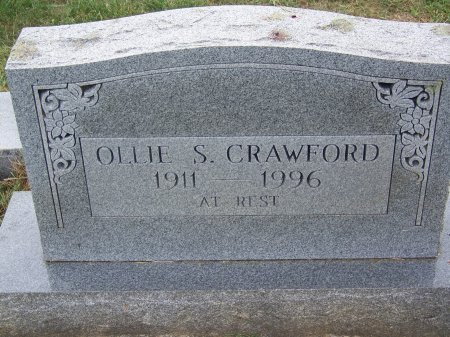 CRAWFORD, OLLIE S. - Clay County, North Carolina | OLLIE S. CRAWFORD - North Carolina Gravestone Photos