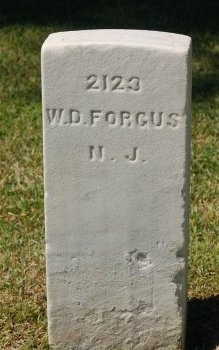 FORGUS (UNION CW), WILLIAM D. - Craven County, North Carolina | WILLIAM D. FORGUS (UNION CW) - North Carolina Gravestone Photos