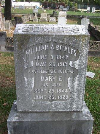 BOWLES, MARY E. - Cumberland County, North Carolina   MARY E. BOWLES - North Carolina Gravestone Photos