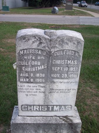 CHRISTMAS, GUILFORD N. - Cumberland County, North Carolina | GUILFORD N. CHRISTMAS - North Carolina Gravestone Photos