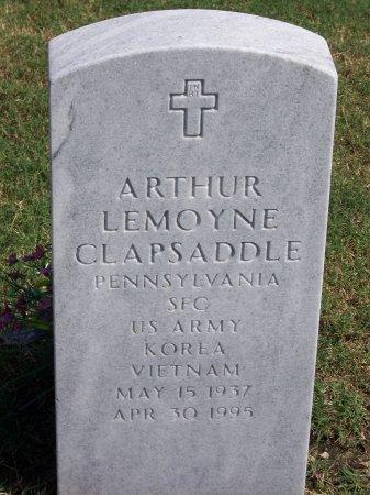 CLAPSADDLE (VETERAN TWO WARS), ARTHUR LEMOYNE - Cumberland County, North Carolina | ARTHUR LEMOYNE CLAPSADDLE (VETERAN TWO WARS) - North Carolina Gravestone Photos
