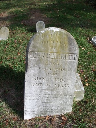 CULBRETH, JOHN - Cumberland County, North Carolina | JOHN CULBRETH - North Carolina Gravestone Photos