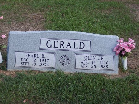 GERALD, JR, OLEN - Cumberland County, North Carolina | OLEN GERALD, JR - North Carolina Gravestone Photos