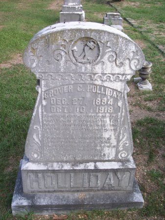 HOLLIDAY, GROVER C. - Cumberland County, North Carolina | GROVER C. HOLLIDAY - North Carolina Gravestone Photos