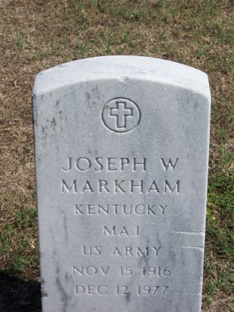 MARKHAM (VETERAN), JOSEPH W. - Cumberland County, North Carolina   JOSEPH W. MARKHAM (VETERAN) - North Carolina Gravestone Photos