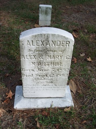 MCARTHUR, ALEXANDER - Cumberland County, North Carolina | ALEXANDER MCARTHUR - North Carolina Gravestone Photos