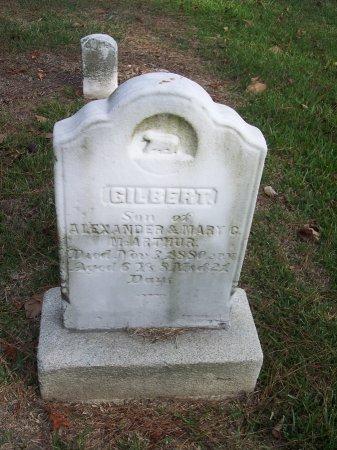 MCARTHUR, GILBERT - Cumberland County, North Carolina   GILBERT MCARTHUR - North Carolina Gravestone Photos