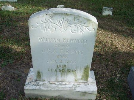 POPE, WILLIAM NORWOOD - Cumberland County, North Carolina | WILLIAM NORWOOD POPE - North Carolina Gravestone Photos