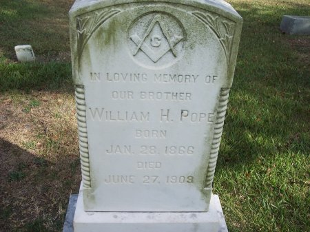 POPE, WILLIAM H. - Cumberland County, North Carolina | WILLIAM H. POPE - North Carolina Gravestone Photos