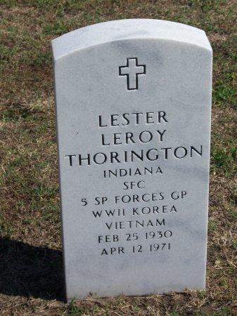 THORINGTON (VETERAN THREE WARS, LESTER LEROY - Cumberland County, North Carolina | LESTER LEROY THORINGTON (VETERAN THREE WARS - North Carolina Gravestone Photos