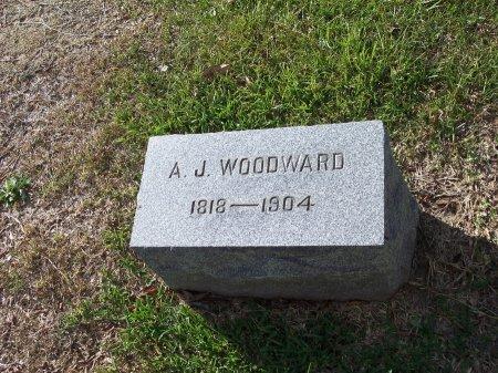 WOODWARD, A. J. - Cumberland County, North Carolina | A. J. WOODWARD - North Carolina Gravestone Photos