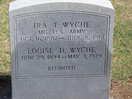 WYCHE (VETERAN TWO WARS), IRA T. - Cumberland County, North Carolina   IRA T. WYCHE (VETERAN TWO WARS) - North Carolina Gravestone Photos