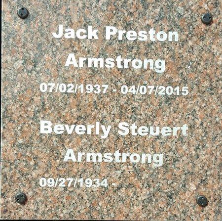 ARMSTRONG, JACK PRESTON - Forsyth County, North Carolina | JACK PRESTON ARMSTRONG - North Carolina Gravestone Photos