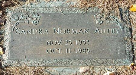 NORMAN AUTRY, SANDRA - Forsyth County, North Carolina | SANDRA NORMAN AUTRY - North Carolina Gravestone Photos
