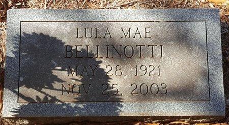 BELLINOTTI, LULA MAE - Forsyth County, North Carolina   LULA MAE BELLINOTTI - North Carolina Gravestone Photos