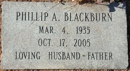 BLACKBURN, PHILLIP A. - Forsyth County, North Carolina | PHILLIP A. BLACKBURN - North Carolina Gravestone Photos