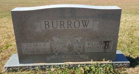 BURROW, CLARA R. - Forsyth County, North Carolina | CLARA R. BURROW - North Carolina Gravestone Photos