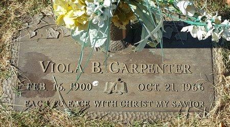 CARPENTER, VIOLA B. - Forsyth County, North Carolina | VIOLA B. CARPENTER - North Carolina Gravestone Photos