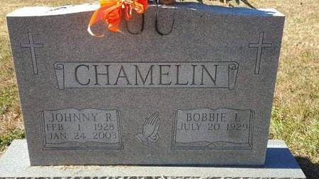 CHAMELIN, JOHNNY R. - Forsyth County, North Carolina | JOHNNY R. CHAMELIN - North Carolina Gravestone Photos