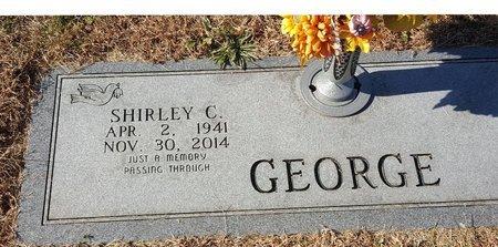 GEORGE, SHIRLEY C. - Forsyth County, North Carolina | SHIRLEY C. GEORGE - North Carolina Gravestone Photos