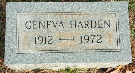 HARDEN, GENEVA PEEPLES - Forsyth County, North Carolina | GENEVA PEEPLES HARDEN - North Carolina Gravestone Photos